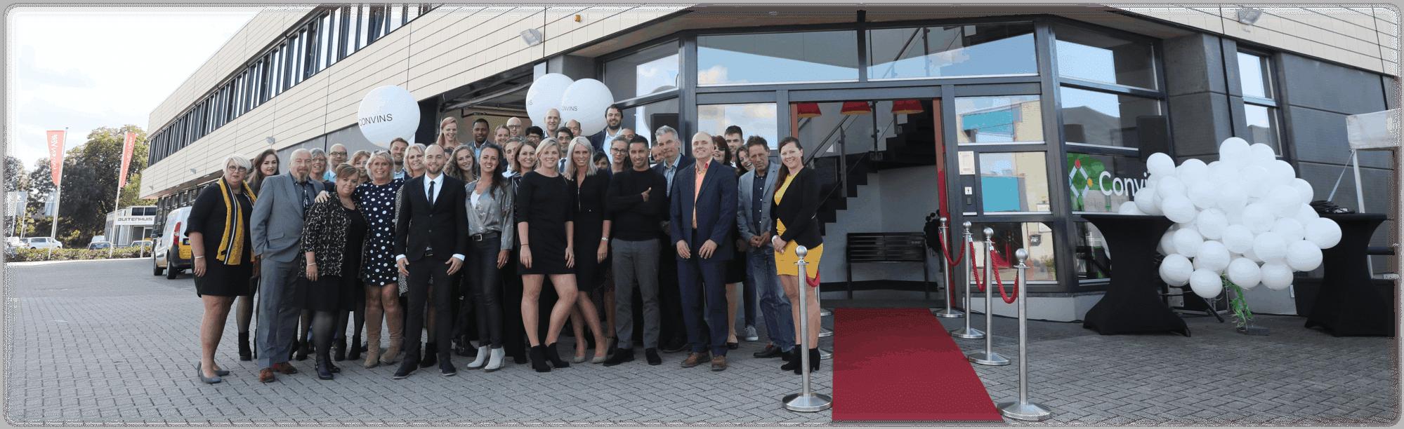 Opening nieuw kantoor | Convins